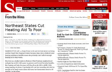 http://www.salon.com/2011/12/11/northeast_states_cut_heating_aid_to_poor/