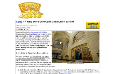 http://www.goldwhy.com/why-store-gold-bullion-in-your-safe-deposit-box.html
