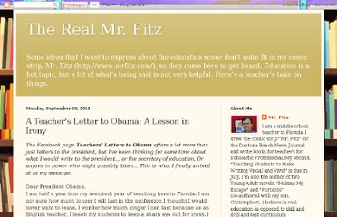 http://realmrfitz.blogspot.com/2011/09/teachers-letter-to-obama-lesson-in.html