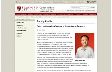 http://cancer.stanford.edu/features/faculty/lee.html