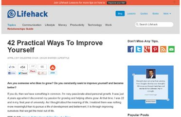 http://www.lifehack.org/articles/lifestyle/42-practical-ways-to-improve-yourself.html#