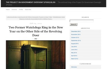 http://pogoblog.typepad.com/pogo/2012/01/two-former-watchdogs-ring-in-the-new-year-on-the-other-side-of-the-revolving-door.html