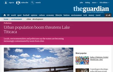 http://www.guardian.co.uk/environment/2012/jan/12/urban-population-boom-lake-titicaca