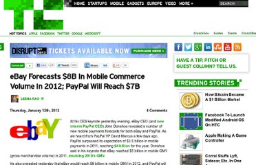 http://techcrunch.com/2012/01/12/ebay-forecasts-8b-in-mobile-commerce-volume-in-2012-paypal-will-reach-7b/
