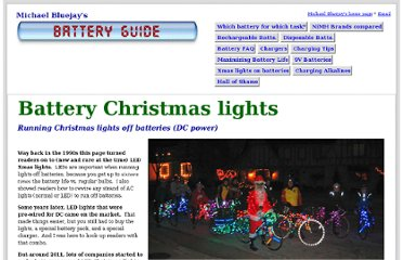 http://michaelbluejay.com/batteries/dc-christmas-lights.html