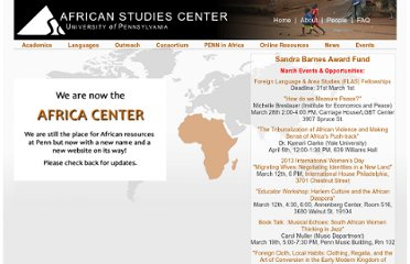 http://www.africa.upenn.edu/AS.html
