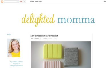 http://www.delightedmomma.com/2011/08/diy-braided-clay-bracelet.html