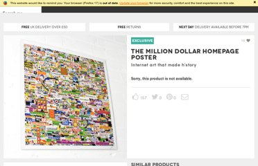 http://www.firebox.com/product/2322/The-Million-Dollar-Homepage-Poster