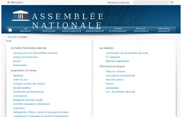http://www.assemblee-nationale.fr/plan.asp