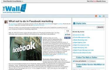 http://wallblog.co.uk/2012/01/12/what-not-to-do-in-facebook-marketing/