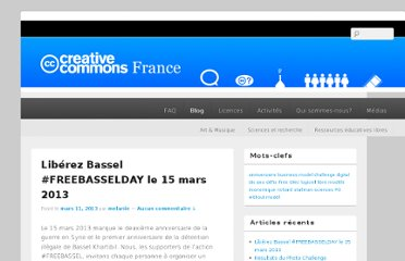 http://creativecommons.fr/blog/