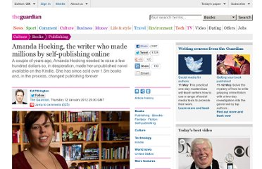 http://www.guardian.co.uk/books/2012/jan/12/amanda-hocking-self-publishing