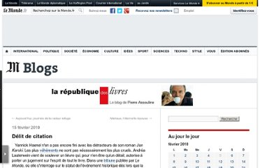 http://passouline.blog.lemonde.fr/2010/02/15/delit-de-citation/#xtor=RSS-32280322ux-lepouse/