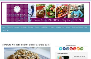 http://www.fannetasticfood.com/recipes/no-bake-peanut-butter-granola-bars/