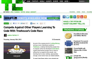 http://techcrunch.com/2012/01/12/compete-against-other-players-learning-to-code-with-treehouses-code-race/