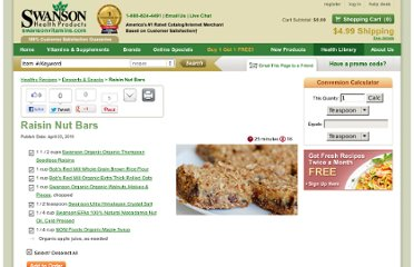 http://www.swansonvitamins.com/health-library/recipes/raisin-nut-bars.html