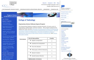 http://www.commnet.edu/services/college_of_tech_eng_path.asp