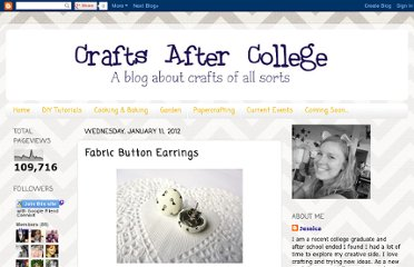 http://postgradcrafts.blogspot.com/2012/01/fabric-button-earrings.html