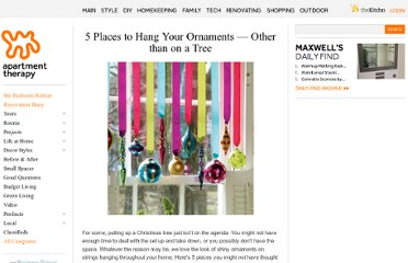 http://www.apartmenttherapy.com/5-places-to-hang-your-ornament-133392