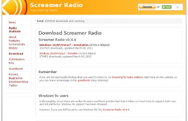 http://www.screamer-radio.com/download/