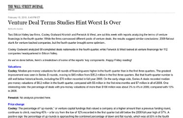 http://blogs.wsj.com/venturecapital/2010/02/19/venture-deal-terms-studies-hint-worst-is-over/tab/print/