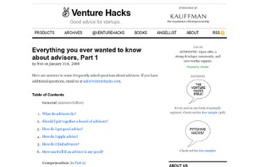 http://venturehacks.com/articles/advisors
