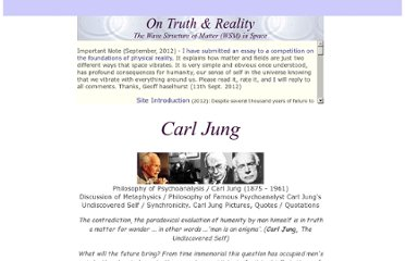 http://www.spaceandmotion.com/Philosophy-Carl-Jung.htm#Carl.Jung.Undiscovered.Self