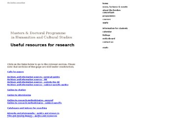 http://www.londonconsortium.com/courses/research-methods/researchresources/#researchgeneral