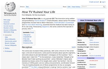 http://en.wikipedia.org/wiki/How_TV_Ruined_Your_Life