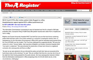 http://www.theregister.co.uk/2012/01/13/nhs_fined_stolen_data/