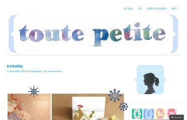 http://toutepetite.wordpress.com/2009/12/22/emballee/