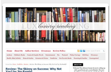 http://luxuryreading.com/theskinnyonsuccess/