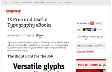 http://designbeep.com/2012/01/10/15-free-and-useful-typography-ebooks/