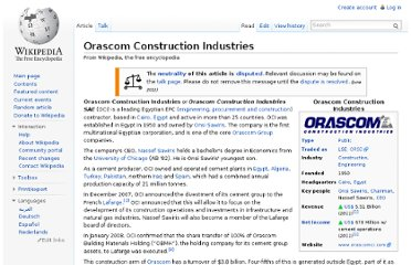http://en.wikipedia.org/wiki/Orascom_Construction_Industries