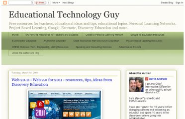 http://educationaltechnologyguy.blogspot.com/2011/03/web-2011-web-20-for-2011-resources-tips.html