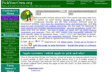 http://www.pickyourown.org/apples.htm