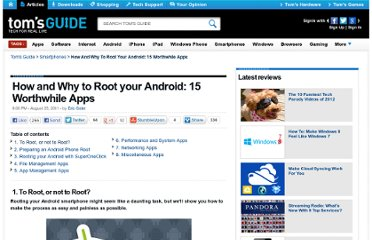 http://www.tomsguide.com/us/Root-Your-Android-Phone,review-1688.html