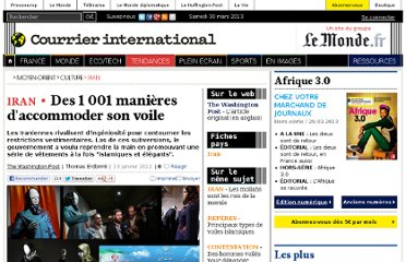 http://www.courrierinternational.com/article/2012/01/13/des-1-001-manieres-d-accommoder-son-voile