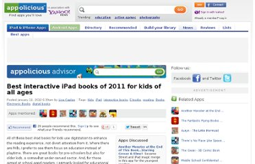 http://www.appolicious.com/tech/articles/10704-best-interactive-ipad-books-of-2011-for-kids-of-all-ages