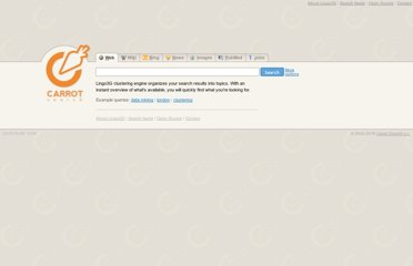 http://search.carrot-search.com/carrot2-webapp/search