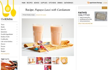 http://www.thekitchn.com/recipe-papaya-lassi-with-carda-1-149085