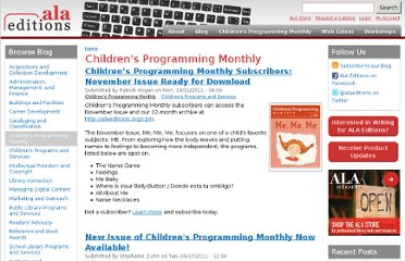 http://www.alaeditions.org/blog/categories/childrens-programming-monthly