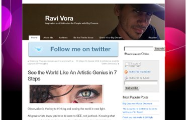 http://ravivora.com/blog/see-the-world-like-an-artistic-genius