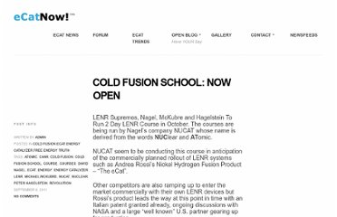 http://ecatnow.com/2011/09/08/cold-fusion-school-now-open/