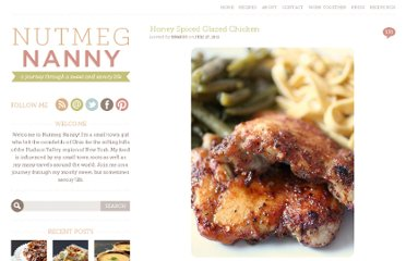 http://www.nutmegnanny.com/2011/07/27/honey-spiced-glazed-chicken/