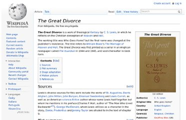 http://en.wikipedia.org/wiki/The_Great_Divorce