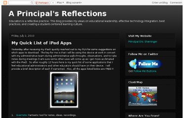 http://esheninger.blogspot.com/2010/07/my-quick-list-of-ipad-apps.html