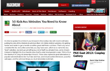 http://www.maximumpc.com/article/features/50_awesome_websites?page=0,0