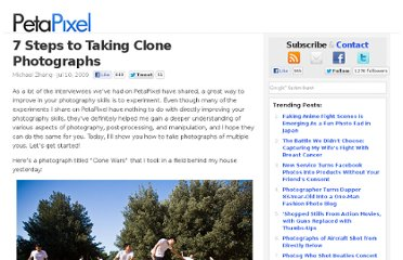 http://www.petapixel.com/2009/07/10/7-steps-to-taking-clone-photographs/