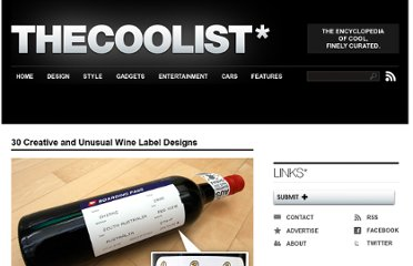 http://www.thecoolist.com/amazing-wine-labels-30-creative-and-unique-wine-label-designs/